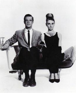 """Audrey Hepburn e George Peppard in """"Colazione da Tiffany"""", 1961"""