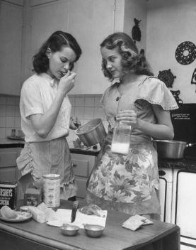 Cucina negli anni 40