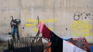 Banksy - Steve Jobs - Calais
