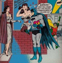 """Batman # 87, """"Batman si innamora"""", 1954"""