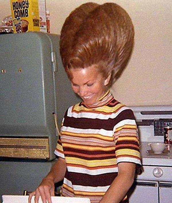 Moda capelli anni 60