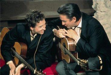 Bob Dylan e Johnny Cash. Los Angeles, 1969
