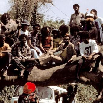 Bob Marley e The Jackson Five in Giamaica 1975