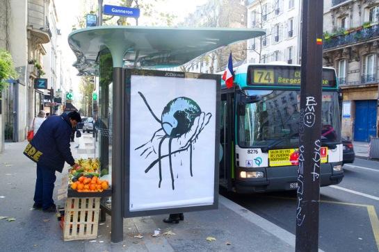 Brandalism Project in Paris for COP21