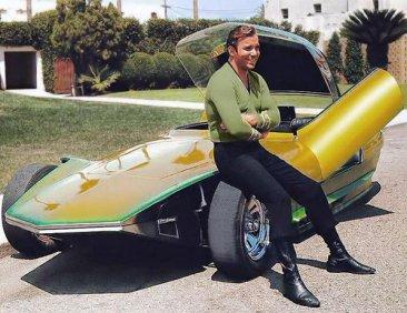 Il capitano Kirk e il suo Jupiter 8, 1965