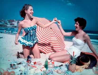 Festa di Natale a Bondi Beach, Sydney, 1959