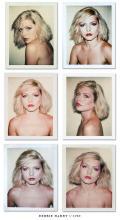 Debbie Harry polaroids, 1980. Foto di Andy Warhol.