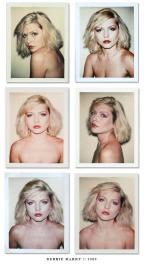 Debbie Harry polaroids, 1980. Foto di Andy Warhol.
