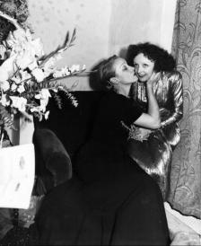 Edith Piaf e Marlene Dietrich