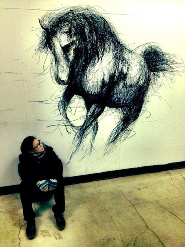 OperArt work 381 - Pittura murale - Fiona Tang (Canada ...