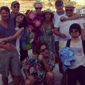Il cast di Game of Thrones in gita al mare