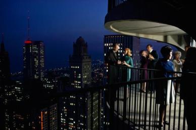 Party in un balcone ad alta quota di Chicago, 1967