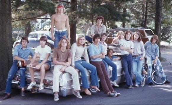 Studenti nel 1976