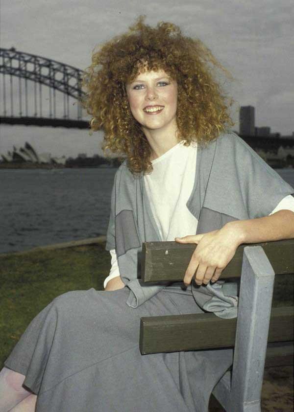 Nicole Kidman negli anni 80