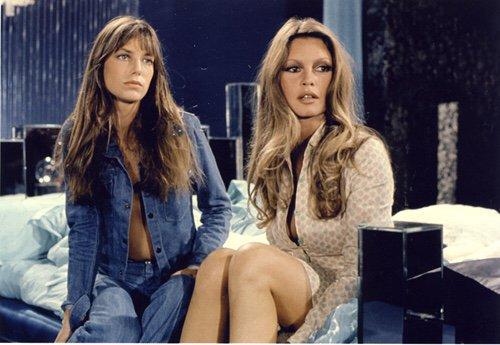 Jane Birkin e Brigitte Bardot, anni 70