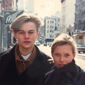 Leonardo DiCaprio e Kate Moss, anni 90