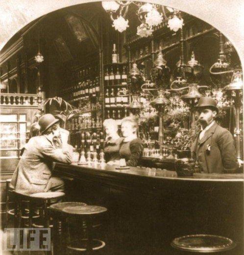 Pub a Londra, 1893