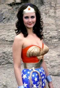Lynda Carter aka Wonder Woman, 1976