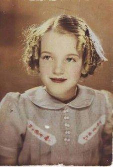Marilyn Monroe da bambina