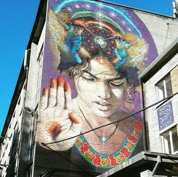 Tallinn, Estonia, Martin Ron Street Art Paintings #artpeople
