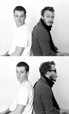 Matt Damon e Heath Ledger