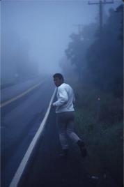 Muhammad Ali in allenamento, 1974. Fotografia di Ken Regan