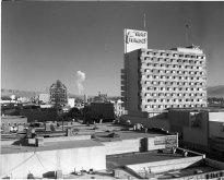 Fungo atomico a seguito di test nucleari visto da Las Vegas, 1957