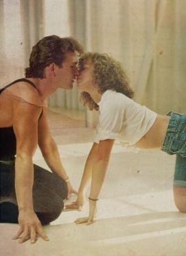 Patrick Swayze e Jennifer Grey in Dirty Dancing, 1987