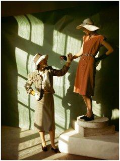 Foto da Vogue Magazine nel 1940