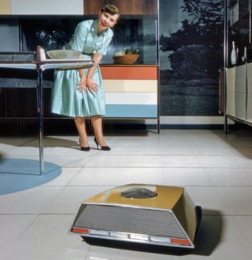 Robo-vac - 'Miracle Kitchen of the Future' mostra all'American National Exhibition a Mosca, 1959