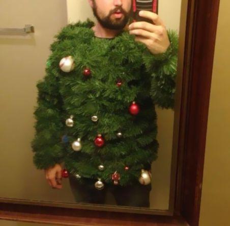Selfie albero di Natale