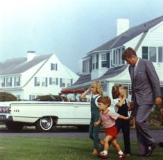 Kennedy - Estate a Hyannis Port, 1963