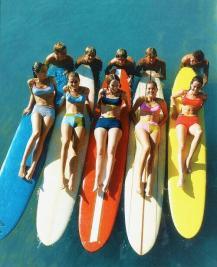 Surfers, circa 1965