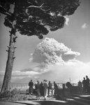 L'eruzione del Vesuvio nel 1944