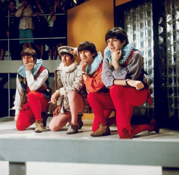 I Beatles celebrano il 400° compleanno di Shakespeare, Aprile 1964