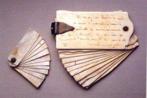 Quaderni in avorio di Thomas Jefferson