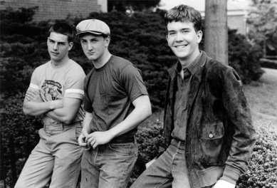 Tom Cruise, Sean Penn e Timothy Hutton nel 1981