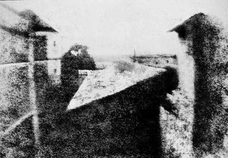 La prima fotografia al mondo - 1826
