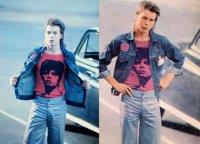 Sid Vicious a 16 anni va a un concerto di David Bowie a Earls Court, 1973