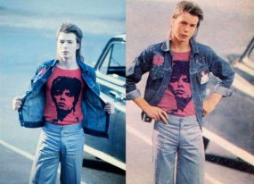 Sid Vicious a 16 anni va a un concerto di David Bowie a Earls Court, 1973