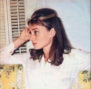 Audrey Hepburn sul set di Colazione da Tiffany 1961