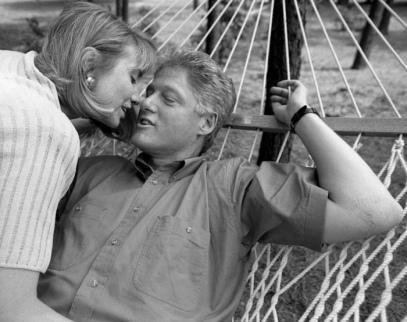 Bill e Hillary Rodham Clinton - Foto di Harry Benson