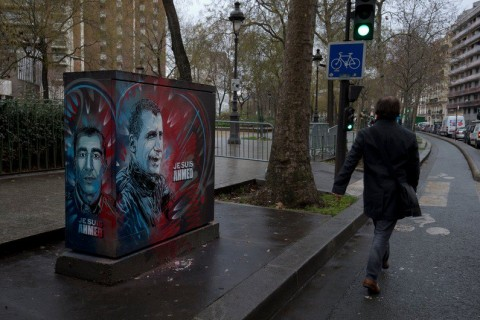 C215 @ Parigi for Charlie Hebdo