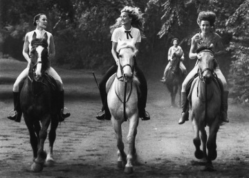 Cyndy, Jerry, Rosie e Terry Hall - Fotografia di Harry Benson