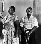 Ella Fitzgerald e Louis Armstrong