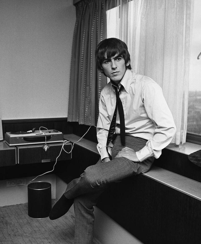 George Harrison - Fotografia di Harry Benson