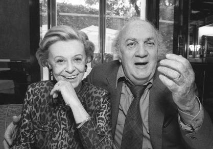 Giulietta Masina e Federico Fellini - Fotografia di Harry Benson