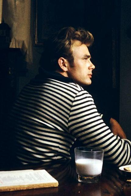 James Dean, 1955. Fotografia di Sanford Roth