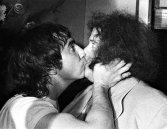 Keith Moon e Leslie West, 1974