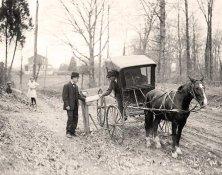 Servizio postale nel 1914